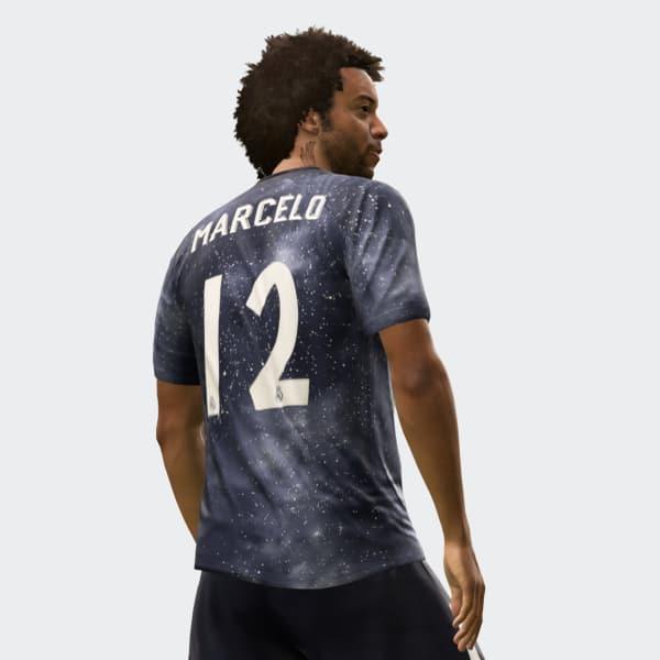 ea9e2b1f0 Camisa Real Madrid EA SPORTS - Azul adidas