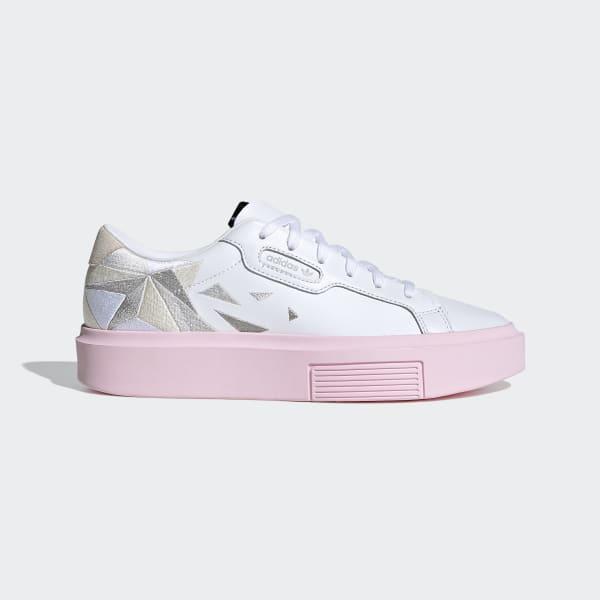 adidas sleek super femme rose