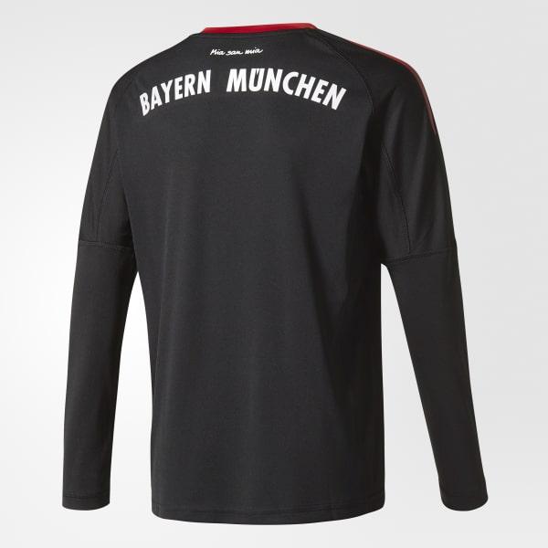 7591e68f3f1 adidas FC Bayern Munich Replica Goalkeeper Jersey - Black | adidas ...