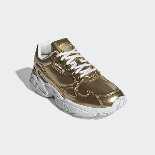 adidas Originals Sko Falcon W Gold MetallicGold Metallic