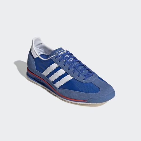Asimilación Debilitar Gruñido  adidas SL 72 Shoes - Blue | adidas UK