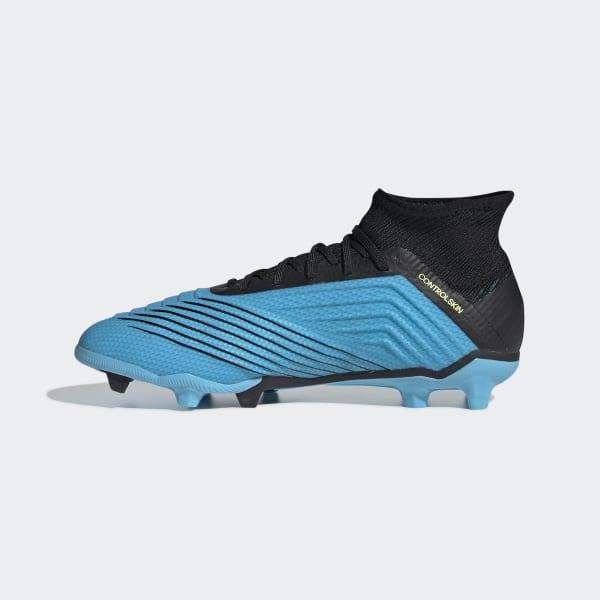 Chaussure Predator 19.1 Terrain souple Turquoise adidas