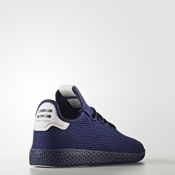 71893e706 adidas Men s Pharrell Williams Tennis Hu Shoes - Blue