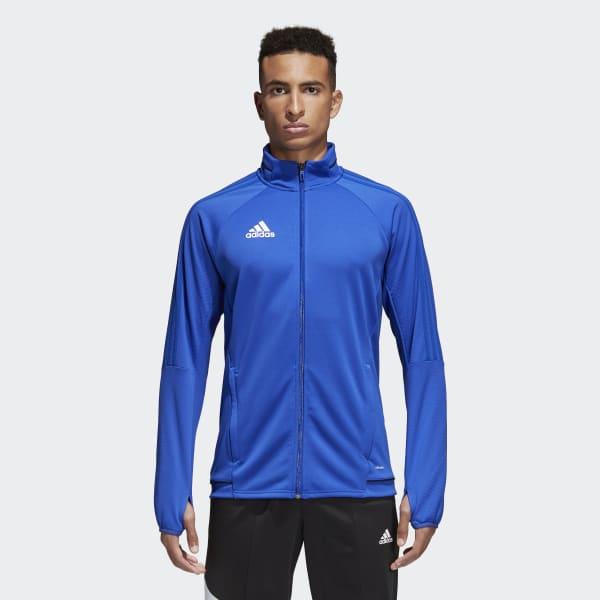 Adidas Tiro 17 Training Jacket Blue Adidas Us