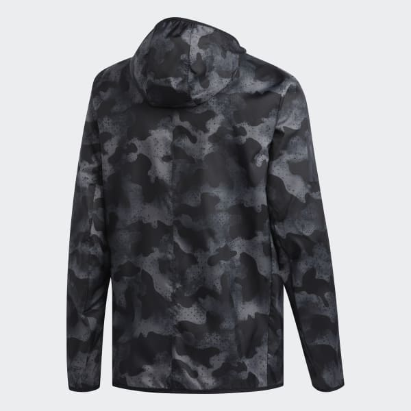 Adidas Own the Run Jacket Jacken Bekleidung grau