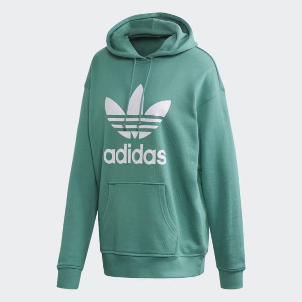 adidas trefoil hoodie green, adidas Winter Jacket Kids