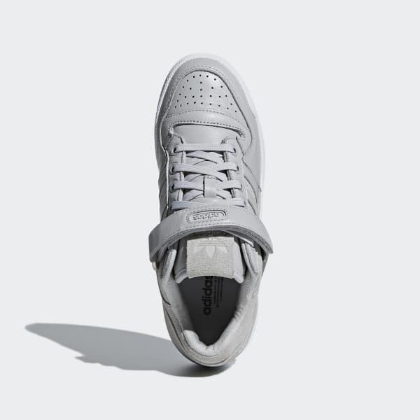 super popular e0716 2dd10 adidas Zapatillas Forum Low - Gris  adidas Argentina