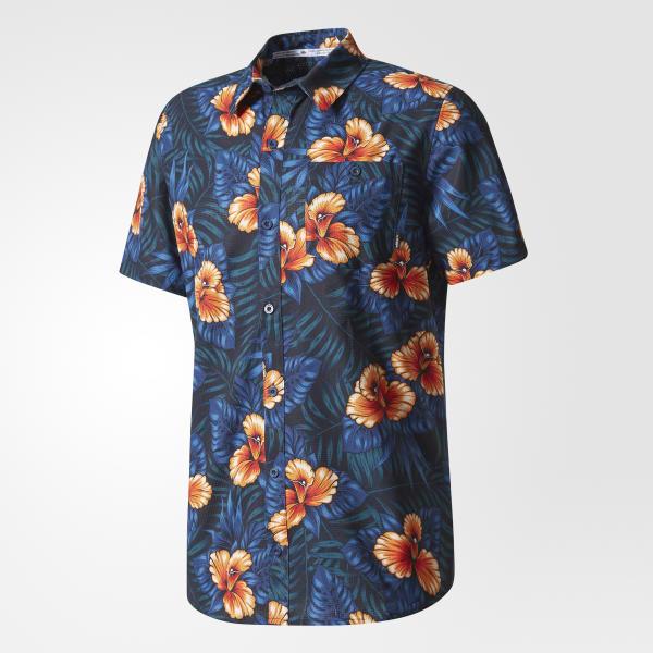 Contra la voluntad Más temprano Conversacional  adidas Camisa Sweet Leaf Button-Up - Multicolor | adidas Mexico