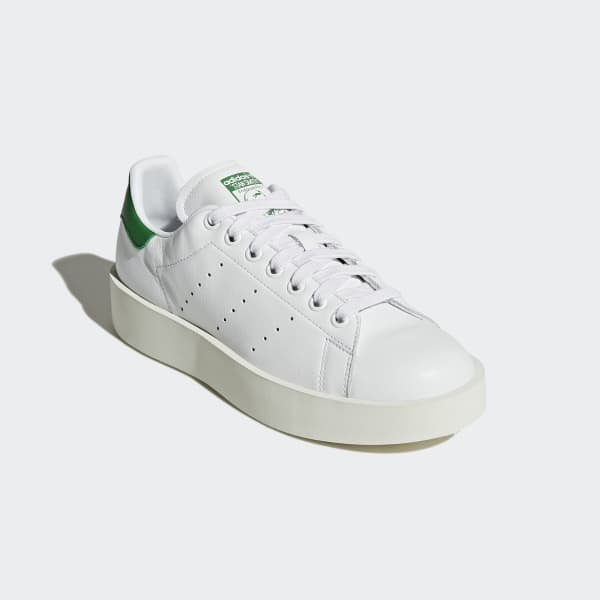 dd8352ce9a2 adidas Tenis Stan Smith Bold Mujer - Blanco