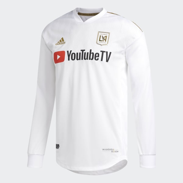 new style 442ef 55343 adidas Los Angeles Football Club Away Authentic Jersey - Multicolor    adidas US