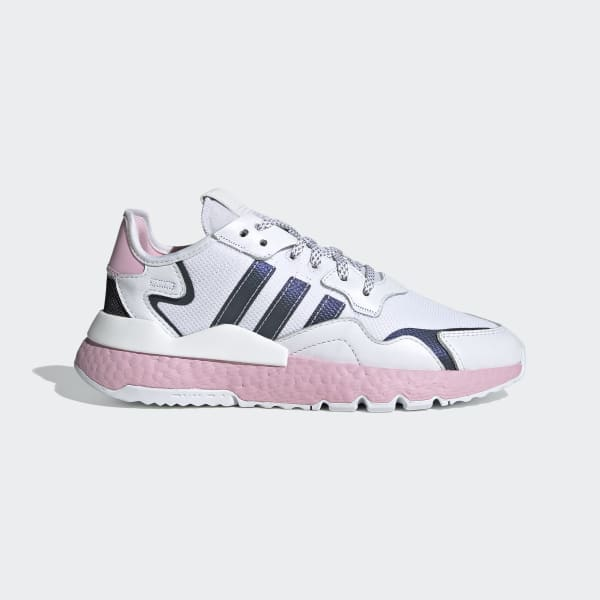 adidas originals nite jogger rose gold