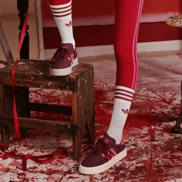 adidas SAMBAROSE Shoes - Burgundy | adidas US