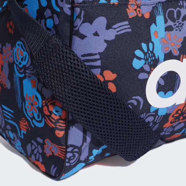 49481a6ec Bolsa de deporte pequeña Linear Core Graphic - Azul adidas | adidas España