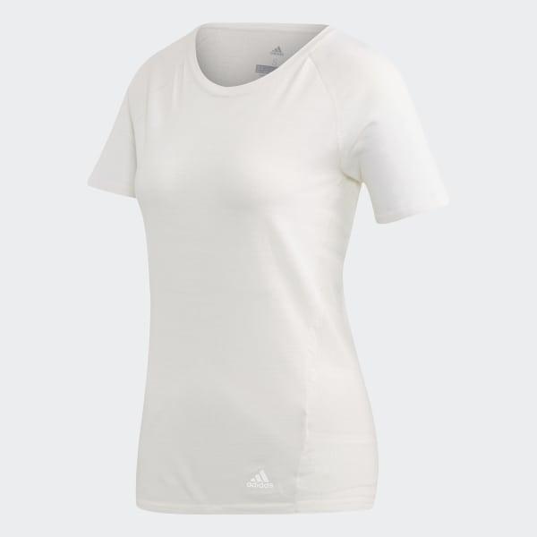 7172e61115 adidas Primeknit Wool Cru T-Shirt - White   adidas UK
