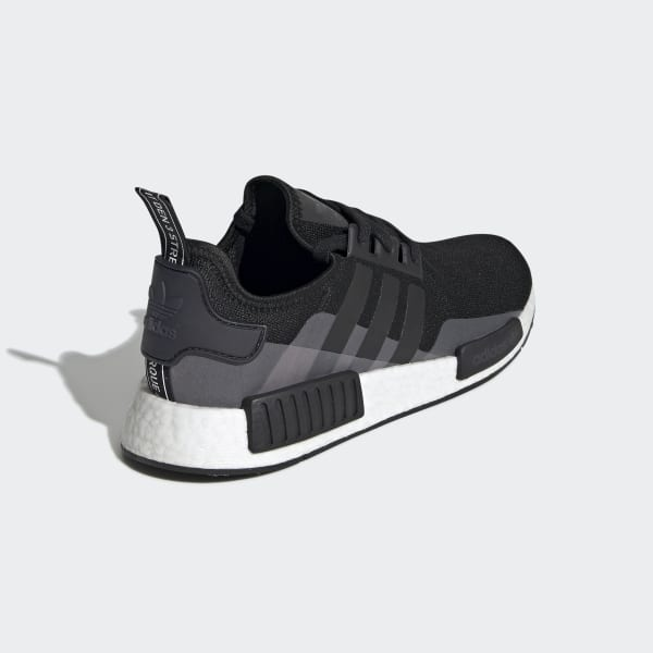NMD R1 Black and White Shoes | adidas US