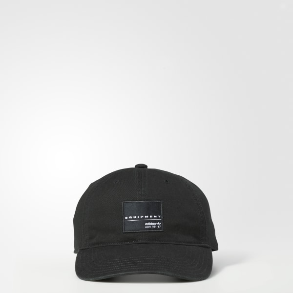 711eeb20296 adidas EQT Washed Relaxed Hat - Black