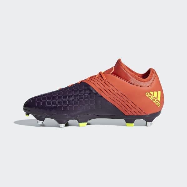 varios estilos otra oportunidad marca famosa Bota de rugby Malice Elite césped natural húmedo - Naranja adidas | adidas  España