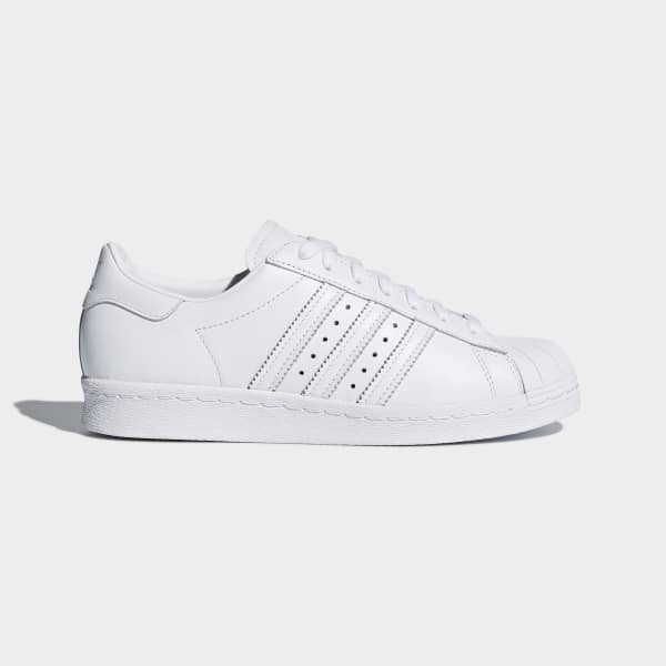 adidas Superstar 80s Half Heart Shoes - White | adidas US | Tuggl
