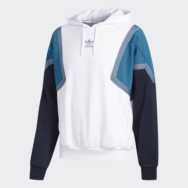 0bb08542cc8 Blusa Capuz Nova - Branco adidas