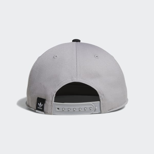 ceae9695fc7 adidas Two-Tone Blackbird Snapback Hat - Grey