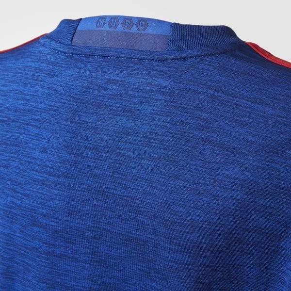 0e12bb332abfd adidas Jersey de Visitante Manchester United FC 2016 - Azul