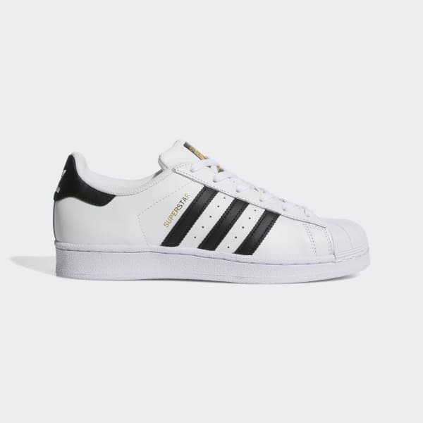 SCARPE N 38 UK 5 ADIDAS SUPERSTAR SNEAKERS BASSE S76154