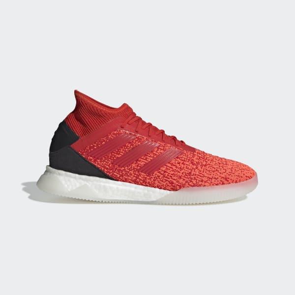 Zapatos de Fútbol PREDATOR 19.1 TR - Rojo adidas  ed55dc9463d79