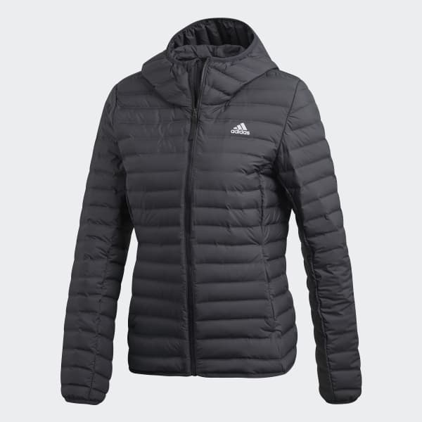 adidas Performance VARILITY SOFT HOODED OUTDOOR DOWN JACKET