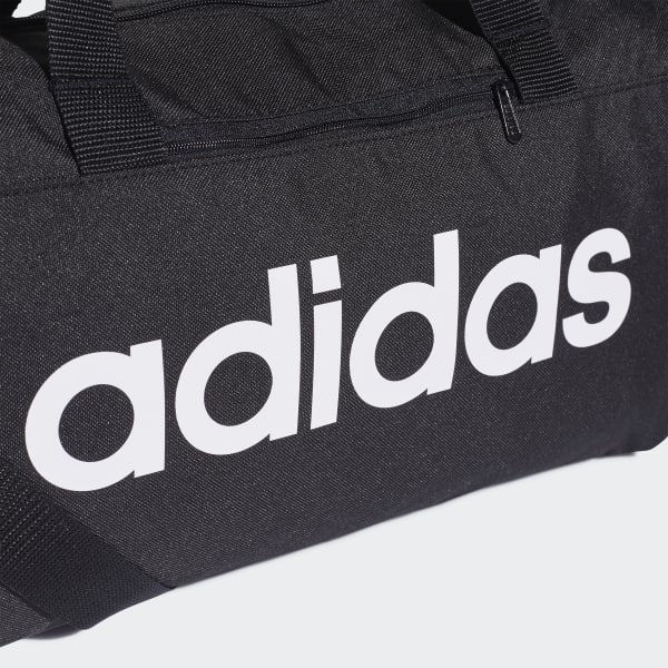 Details about Adidas Training Essential Linear Core Dufel Bag Extra Small DT4818 Yoga Fitnes