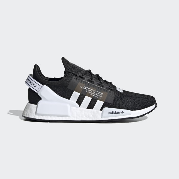Nmd R1 V2 Cloud White And Core Black Shoes Adidas Uk