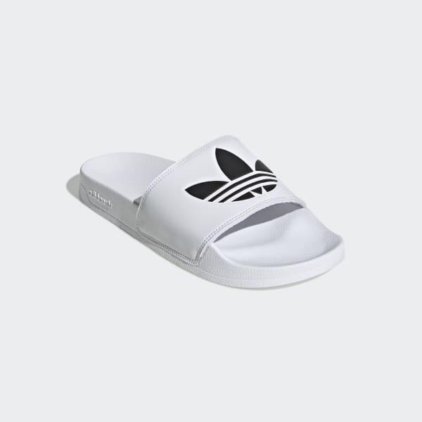 Adilette Lite wit zwarte herenslippers | adidas Nederland