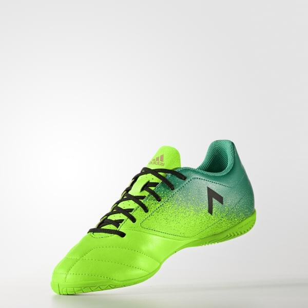 42a9437723 Chuteira ACE 17.4 - Futsal - Verde adidas