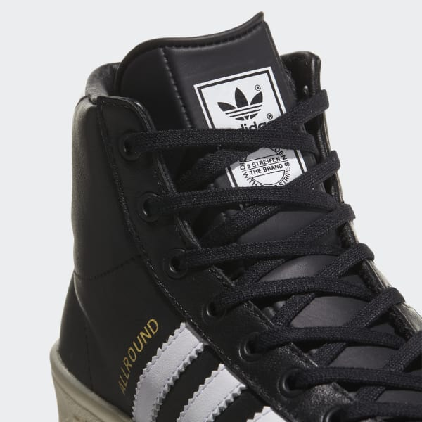 e885ee4825d adidas Tenis Allround Original Caña Alta - Negro