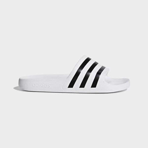 adidas Adilette Aqua Slides - White