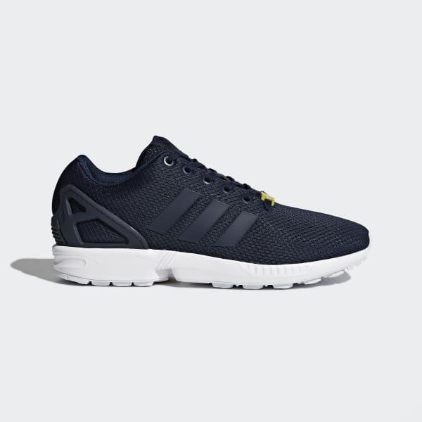 chaussure adidas zx flux bleu