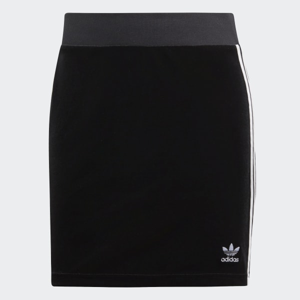 6414c70d306f adidas 3-Stripes Skirt - Μαύρο