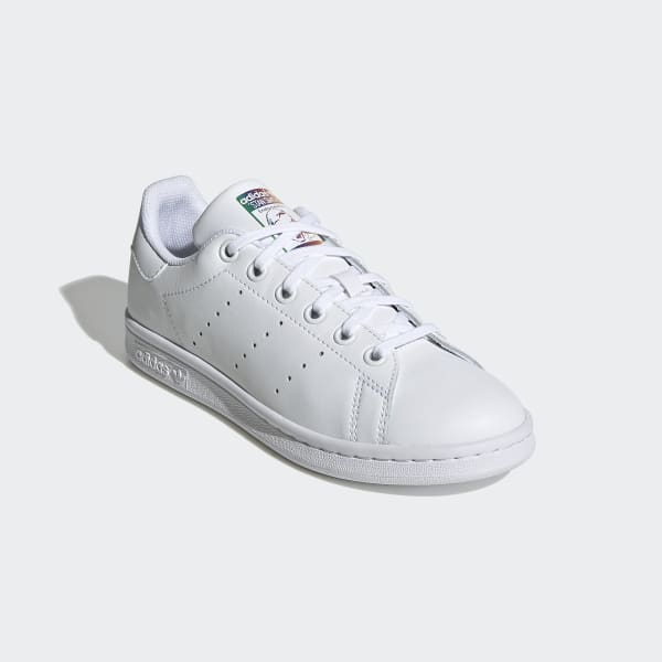 Kids Stan Smith Cloud White Shoes with