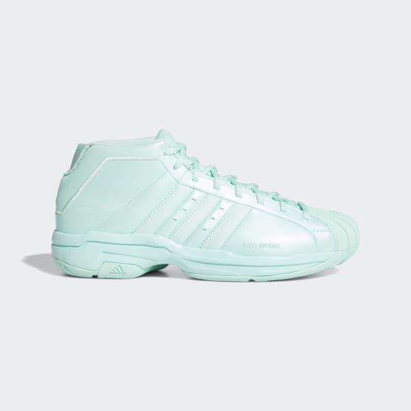 adidas Pro Model 2G Shoes - Turquoise