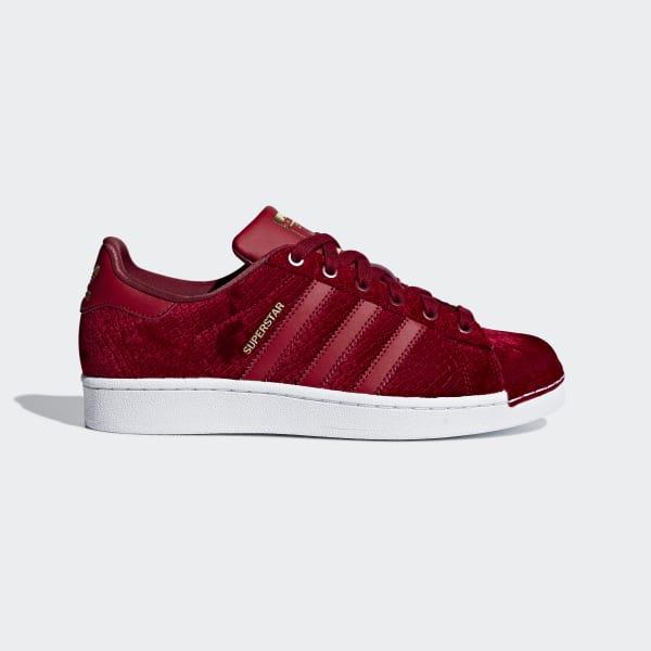 adidas superstar colors vermelho