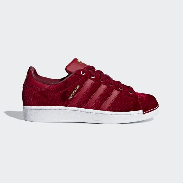 adidas Superstar Shoes - Red  77414159767f
