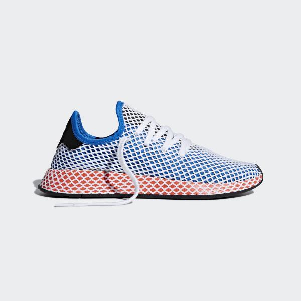 nowy design pierwsza stawka delikatne kolory adidas Deerupt Runner Shoes - Blue | adidas US