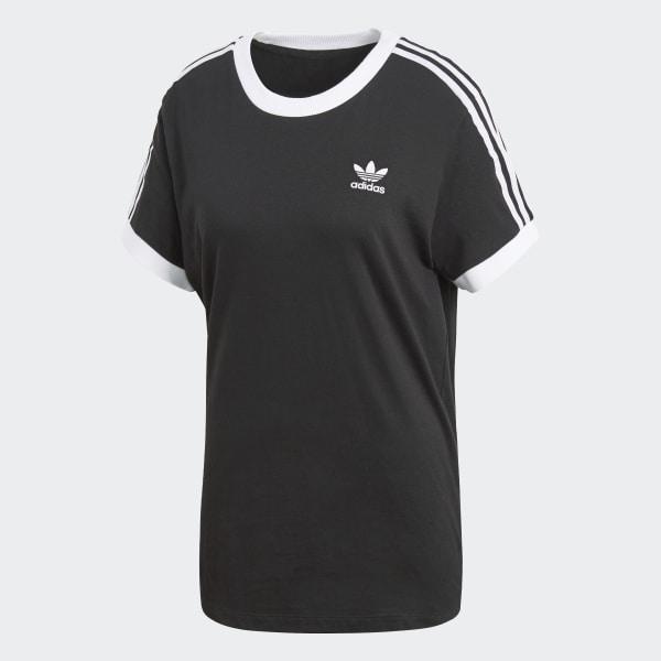 T-shirt 3-Stripes - noir adidas  c206e07aec2