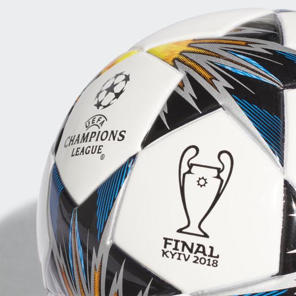 adidas UCL Finale Kiev Mini Ball - White  194b1ddc9bcf3