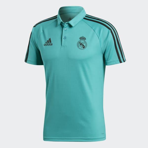 Camisa Polo Viagem Real Madrid - AERO REEF S11 adidas  a8445996e547b