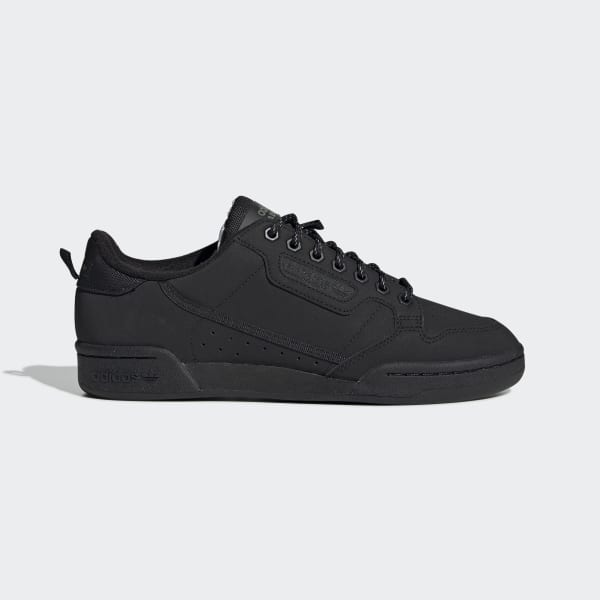 adidas Originals CONTINENTAL 80 - Joggesko - core black/trace green