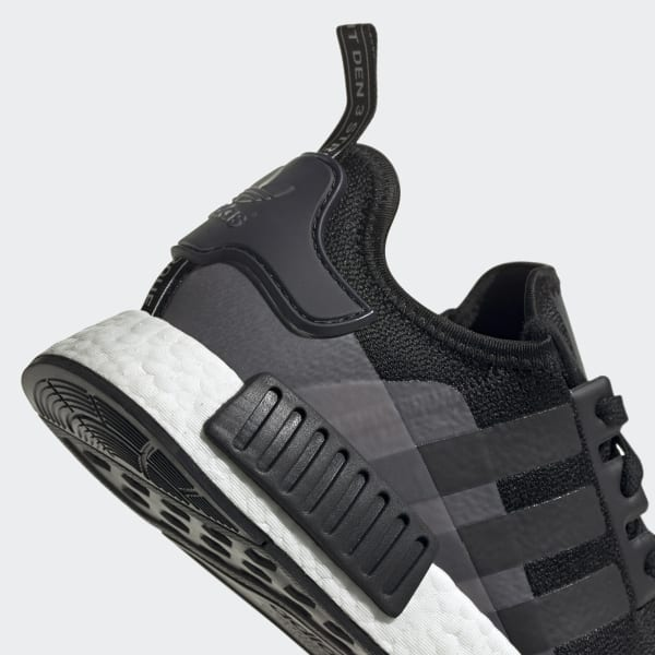 NMD R1 Black and White Shoes   adidas US