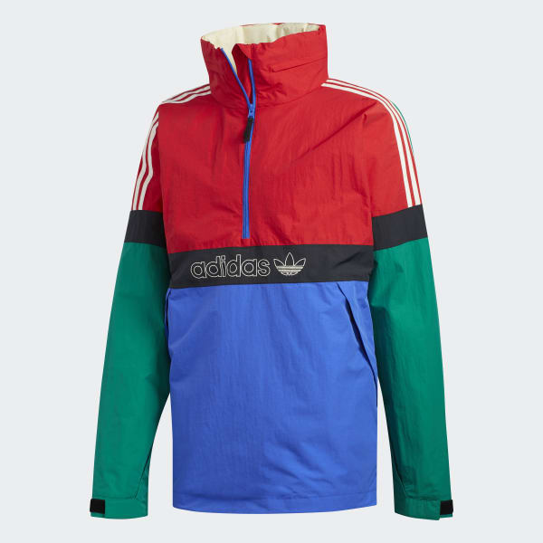adidas BB Snowbreaker Green & Red 10K Snowboard Jacket