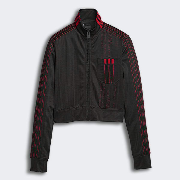adidas Originals by Alexander Wang Crop Track Jacket Black | adidas New Zealand