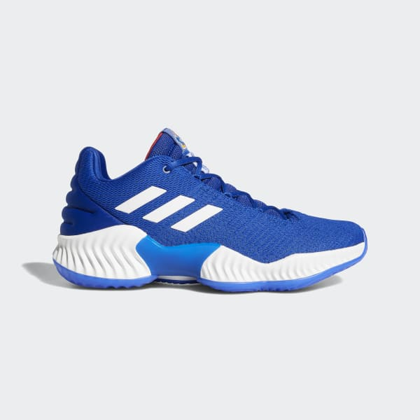 adidas Pro Bounce 2018 Low Shoes - Blue