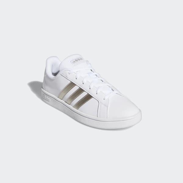 adidas Grand Court Base Shoes - White | EE7874 | adidas US